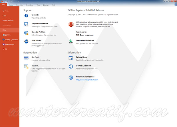 Offline Explorer 7.0