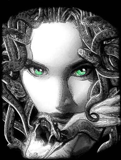 medusa,gorgon,mitology yunani