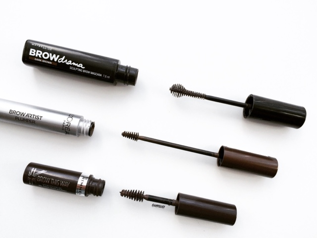 best drugstore brow gels and brow mascaras
