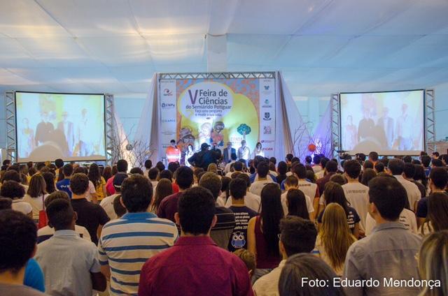 5ª Feira de Ciências do Semiárido: Escolas estaduais e primeiro astronauta brasileiro são destaques na abertura