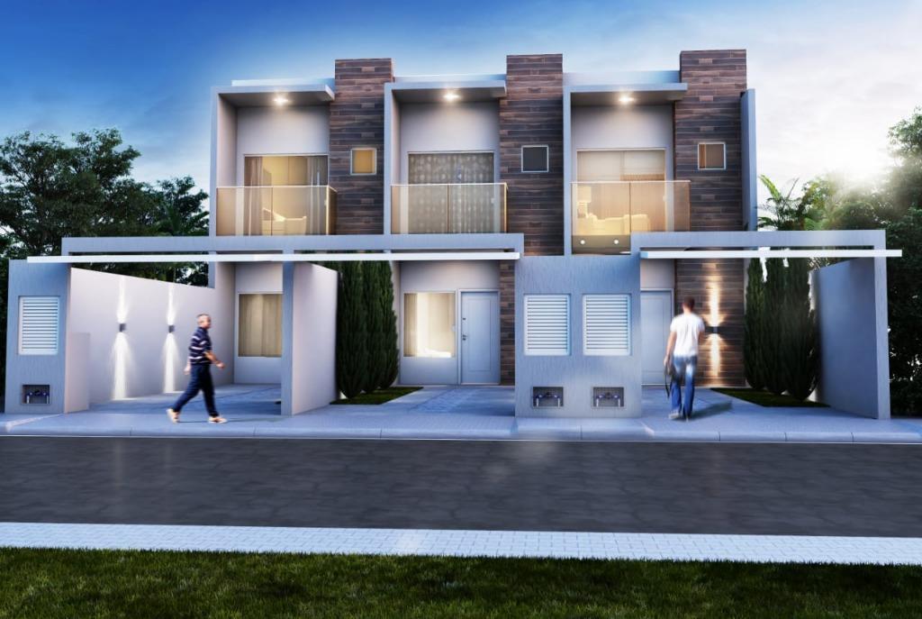 Sobrado com 2 dormitórios à venda, 92 m² por R$ 279.000 - Morretes - Itapema/SC