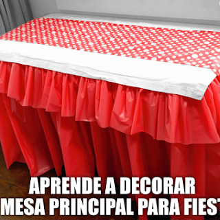 Aprende a Decorar 'Mesa Principal' para Fiestas, paso a paso!