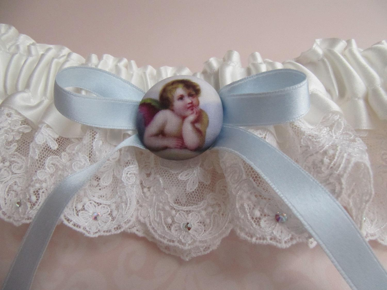 Wedding garter French Lace