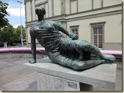 Draped Reclining Woman 1957-58