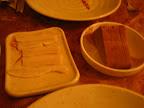 I na koniec szczypta kuchni słowiańskiej - na stole starter z restauracji ukraińskiej w UB - kto zgadnie co to jest to białe ?