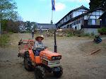 Traktor świątynny.