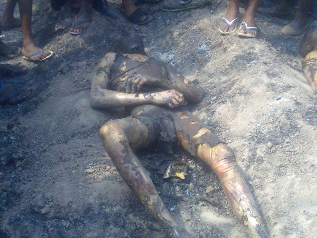 PHOTOS: Over 100 Die In Nnewi Gas Plant Explosion 12