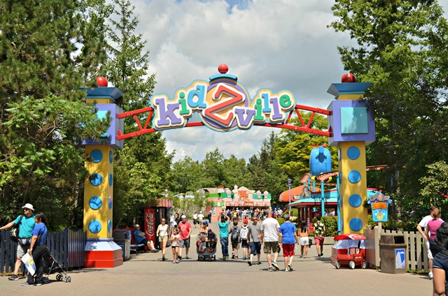 KidsVille Entrance at Canada's Wonderland