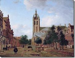 Oude Delft bij het Huyterhuis