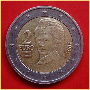 Austria 2 Euros