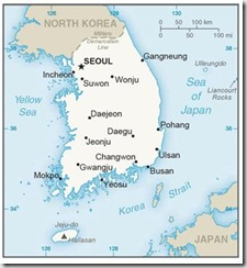 koream Map