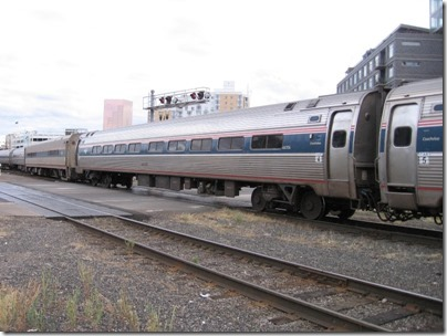 IMG_8620 Amtrak Amfleet I Coach #44706 at Union Station in Portland, Oregon on August 19, 2007