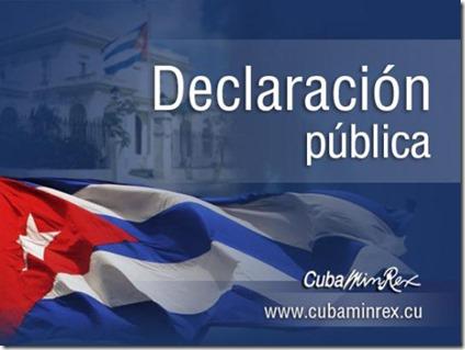 declaracion_publica_minrex-cuba