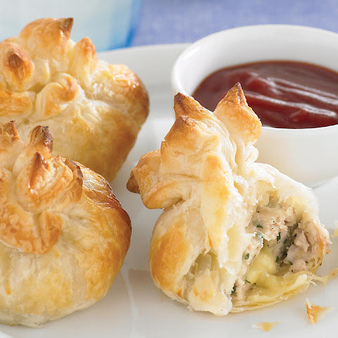Chicken and Cheese Parcels