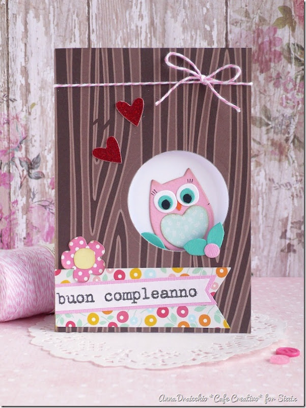 Owl card - Sizzix - Big Shot Plus - Die Cutting - by cafecreativo (1)