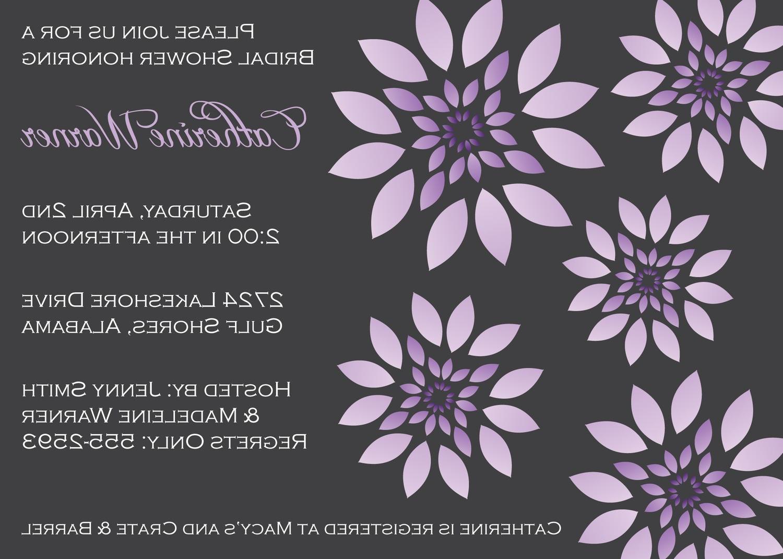 Printable Floral Bridal Shower