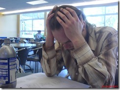 Nathan setting the tone for the exam by Richard Riley on flickr