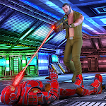 Robots War Strike Icon