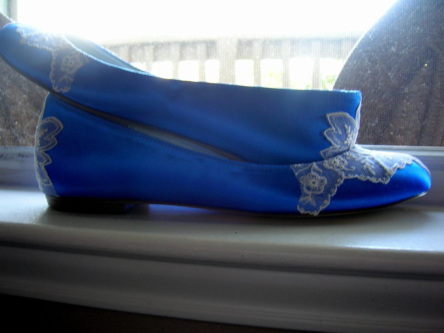 Sapphire Ballet Flat with