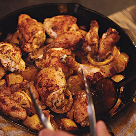 Lemon Roasted Tuscan Chicken