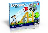 Want to play Angry Birds in real life? May be K`Nex will help you.