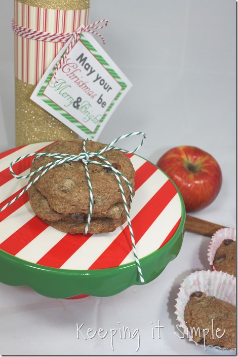 #ad 4-Ingredient-apple-cinnamon-cookies-recipe #HolidayWithGlade (10)
