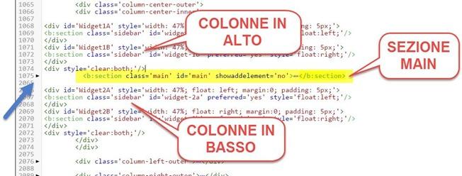 inserire-colonne-alto-basso-layout