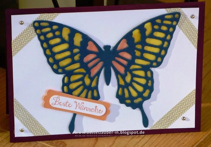 Schmetterling Pergament-fertig
