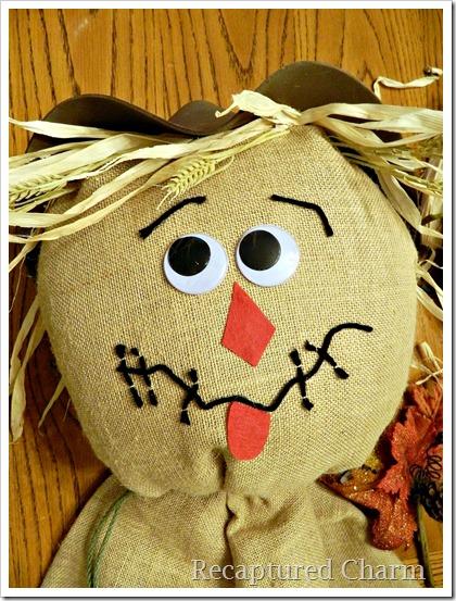 Burlap Scarecrow 17
