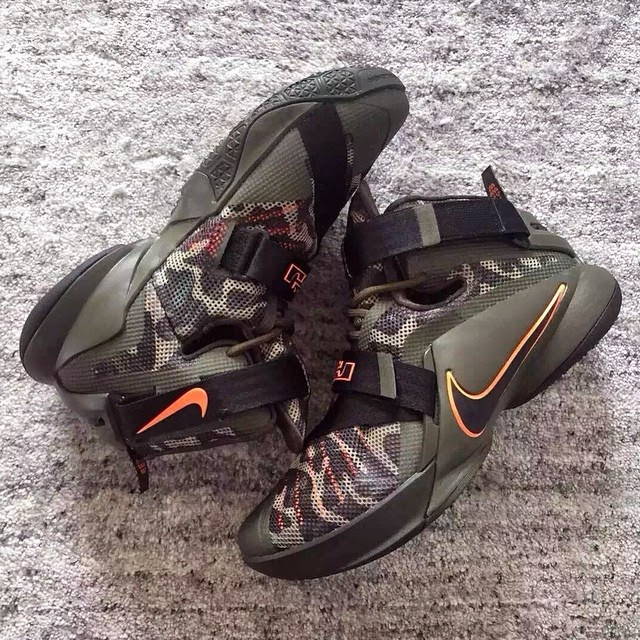 ... Nike Goes Back to the Roots with Camo Zoom LeBron Soldier 9