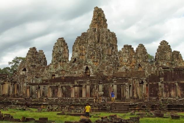 Sensational Bayon Temple, Siem Reap, Cambodia
