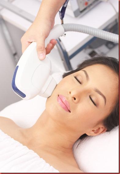 SkinStation Treatment Shot with SkinStation brand ambassador, award-winning actress, environmentalist Ms. Chin Chin Gutierrez