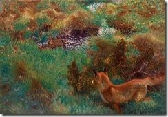 800px-Bruno_Liljefors_-_Fox_stalking_wild_ducks_1913