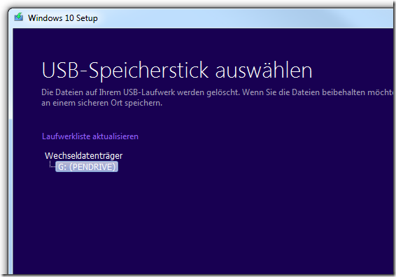 Windows 10 vom USB Stick installieren Teil 3