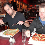 pizza at pizzedelic in montreal in Montreal, Quebec, Canada