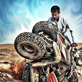 The Demolition by Salden Toy Eltagonde - Sports & Fitness Other Sports ( hdr sports, demolition, desert, atv car, sports )
