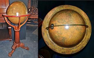 Антикварный глобус. ок.1900 г. 2900 евро.