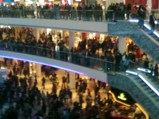 Morocco Mall vue du 3ème étage