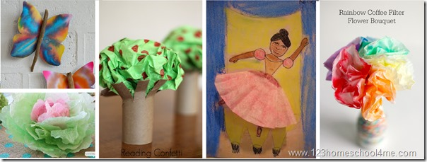 Coffee Filter Crafts for Kids 1