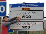 Het enige naambord van Vigo dat we konden vinden.