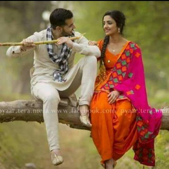 Couple dps, Punjabi Suit dps for whatsapp and facebook ...