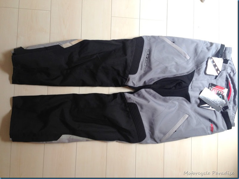Alpinestars Andes tourer pants review
