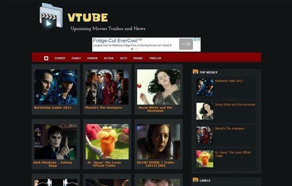 vtube-blogger-template