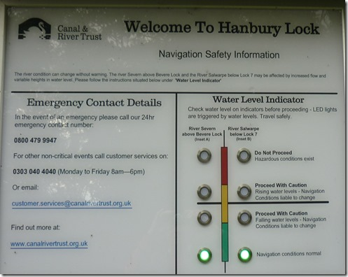 8 new water level indicator hanbury top lock