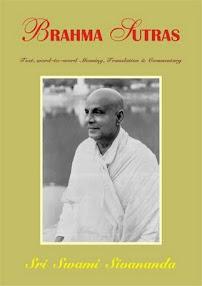 Cover of Sri Swami Sivananda's Book Brahma Sutras