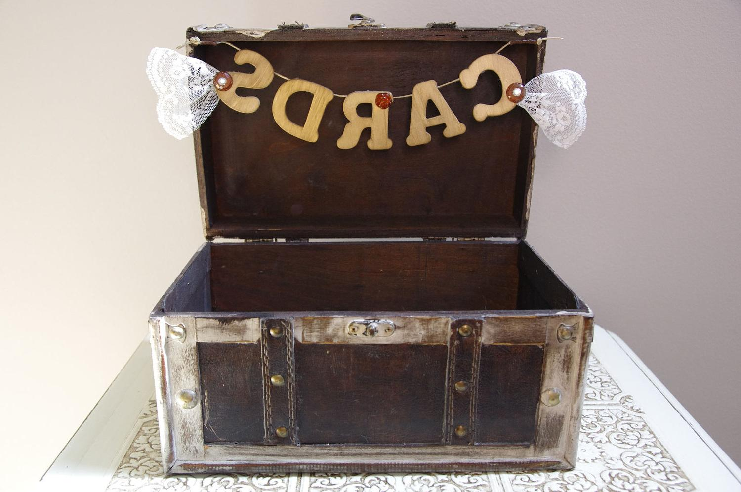 Wedding Trunk Card Box