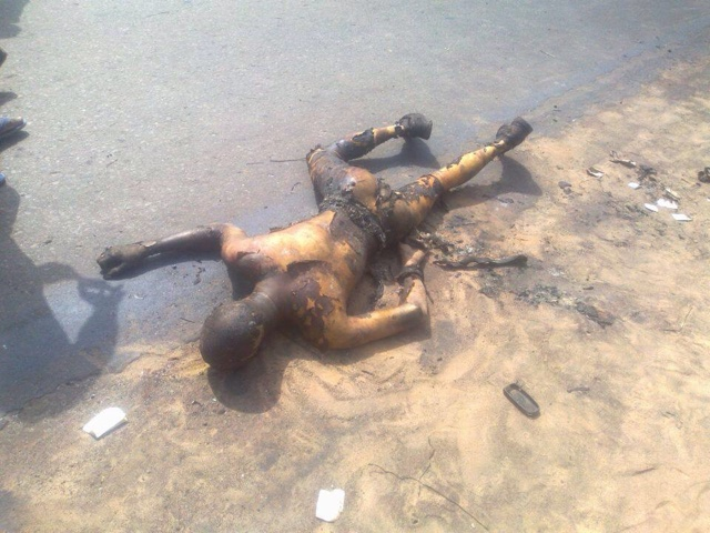 PHOTOS: Over 100 Die In Nnewi Gas Plant Explosion 13