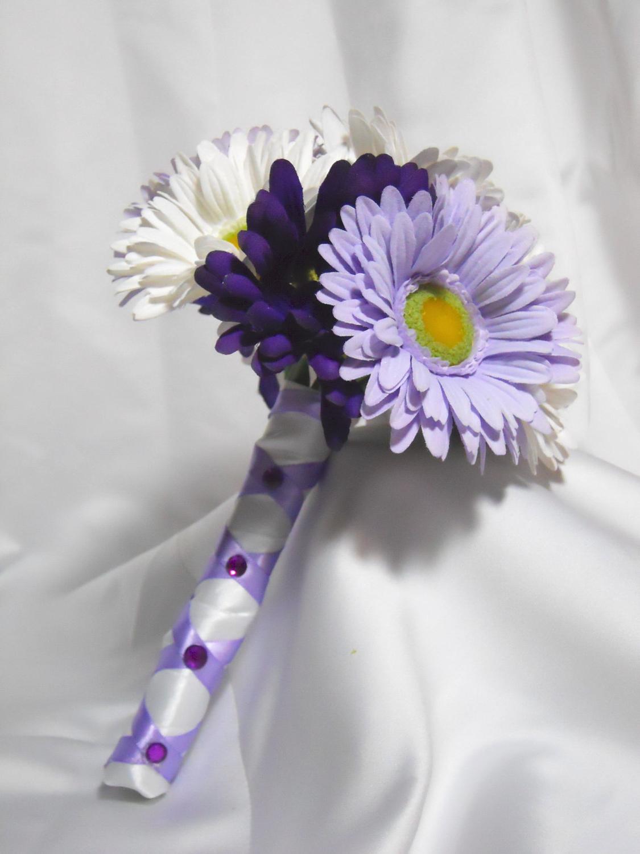 daisy wedding bridal bouquet