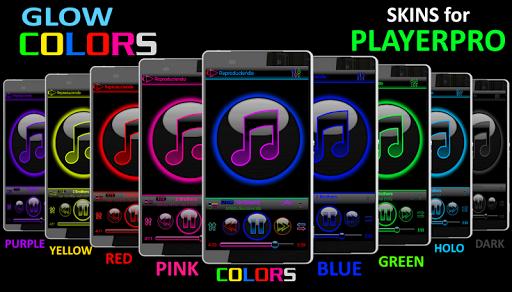 SKIN PLAYERPRO GLOW YELLOW - screenshot