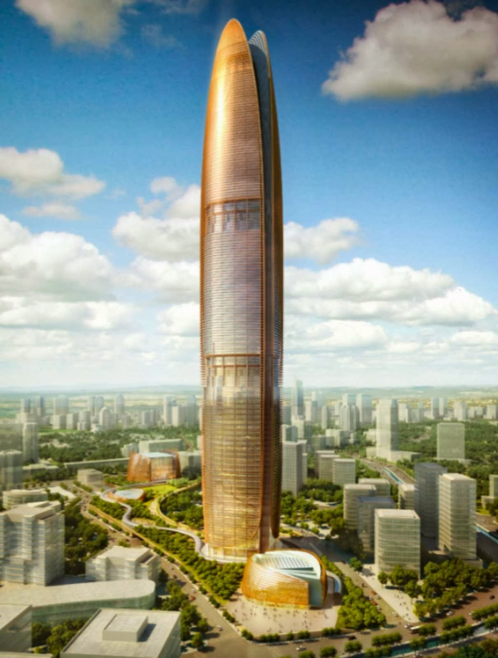 Pertamina Energy Tower by Som